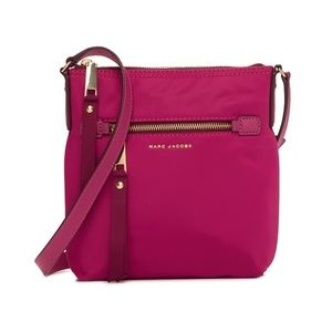 Marc Jacobs Trooper Nylon Crossbody Bag Hibiscus